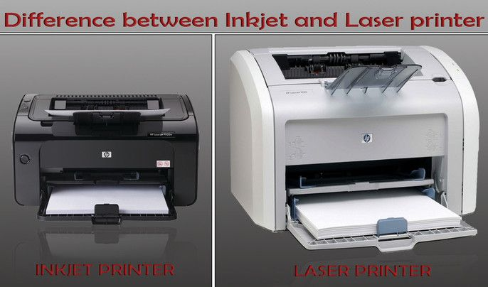 Understand The Different Between Laser And Inkjet Printer Inkjet Printer Printer
