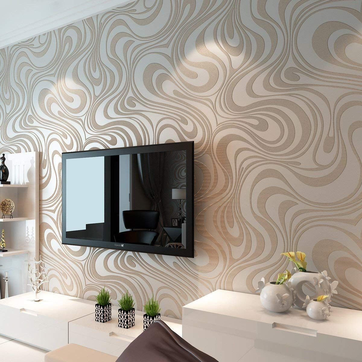 3d Wooden Wallpaper For Living Room Wallpaper Living Room