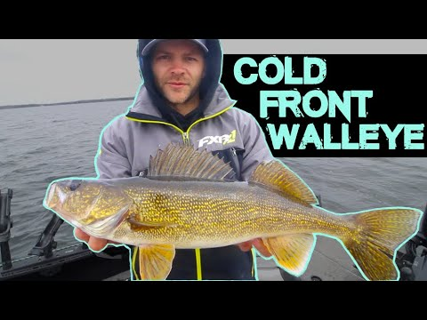 How To Catch Spring Walleyes In A Cold Front Youtube In 2020 Walleye Cold Front Walleye Fishing