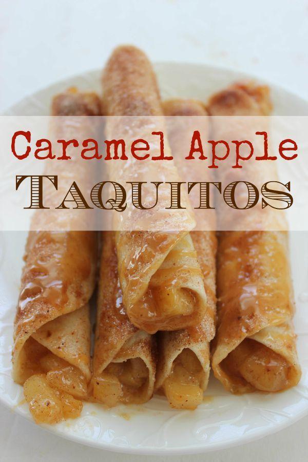 Caramel Apple Taquitos - BargainBriana