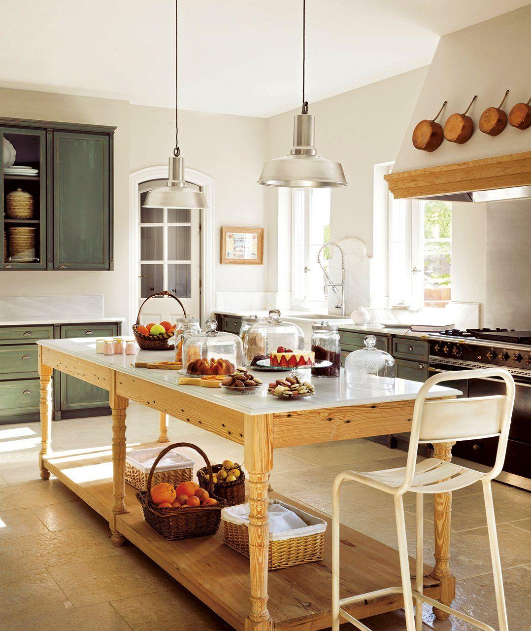Los suelos perfectos para tu casa resistentes y bellos - Mesas de cocina rusticas ...
