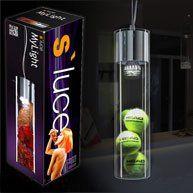 s`luce MyLight LED H�ngeleuchte mit Schauzylinder 40cm, chrom