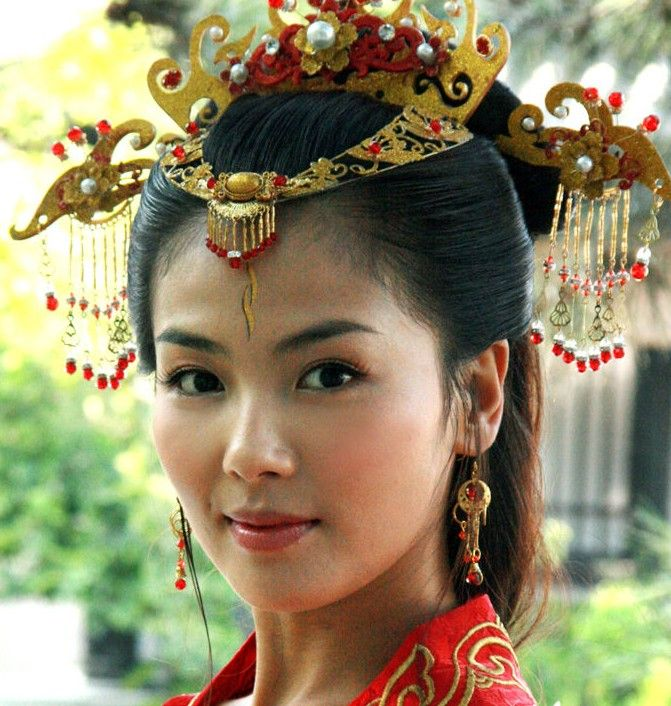 Wedding Hairstyles Chinese: Ancient Chinese Empress Wedding Hair Accessories Complete