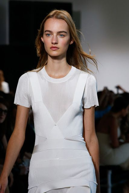 Fashion fan blog from industry supermodels: Maartje Verhoef - Calvin Klein Collection S/S 2016...