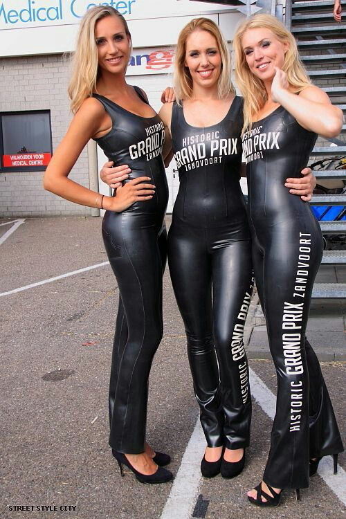 Grid Girl Kleidung