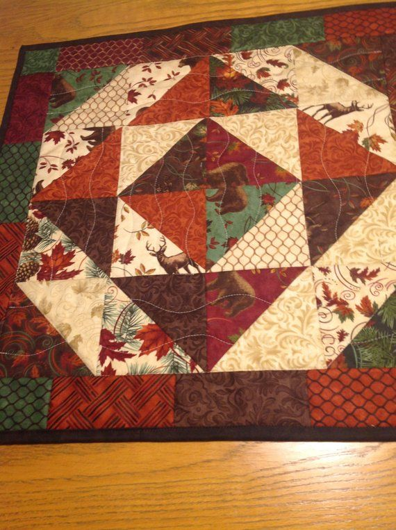 Fall Table Topper Quilted Table Top For Fall Square