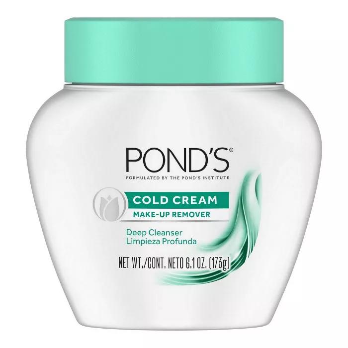 Pond S Cold Cream Make Up Remover Deep Cleanser 6 1oz In 2020 Ponds Cold Cream Make Up Remover Cold Cream