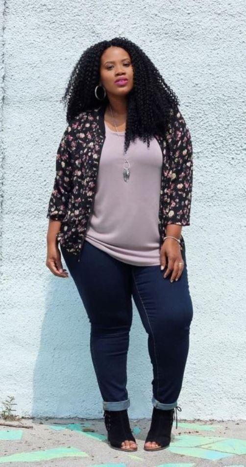 00eb18d6fd8074 A Guide For How To Choose Jeans For Plus Size Body | Clothes | Pinterest |  Estilo feminino, Moda and Estilo