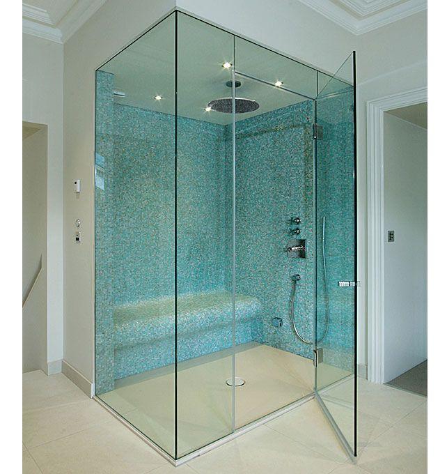 Rahmenlose Dusche Tur Gehause Haus Duschabtrennung Glas