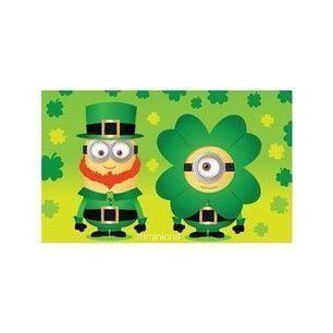 St. Patrick's Day Minions