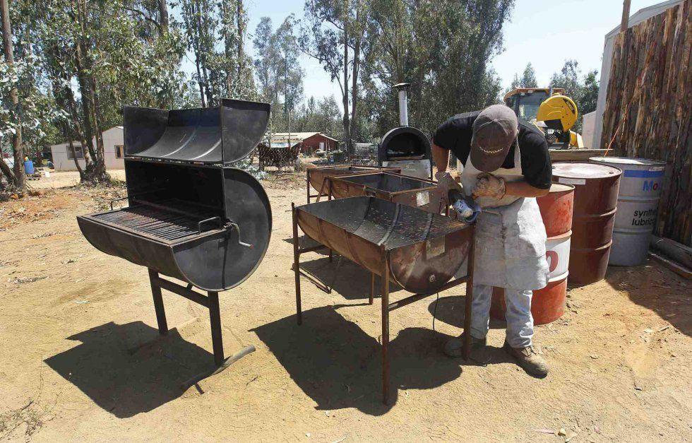 Resultado De Imagen De Proyecto Barbacoa Bidon Bidones Barril De Petróleo Barriles