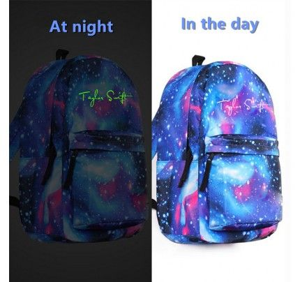 Game Dragon Quest Backpack Teenagers Schoolbag Cosplay Star Blue Travel Bags