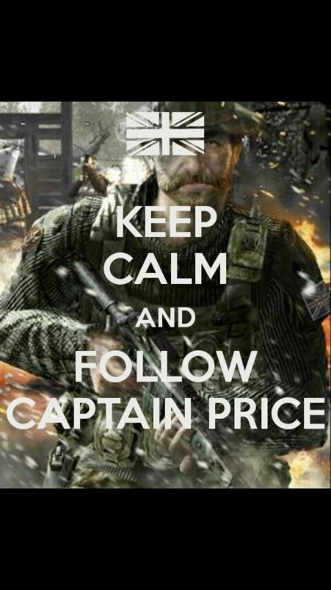 Captain Price Is Best Captain Video Games Funny Duty Quotes Call Of Duty