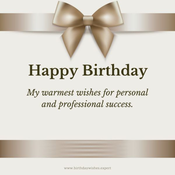 Happy birthday my warmest wishes for personal and professional happy birthday my warmest wishes for personal and professional success m4hsunfo