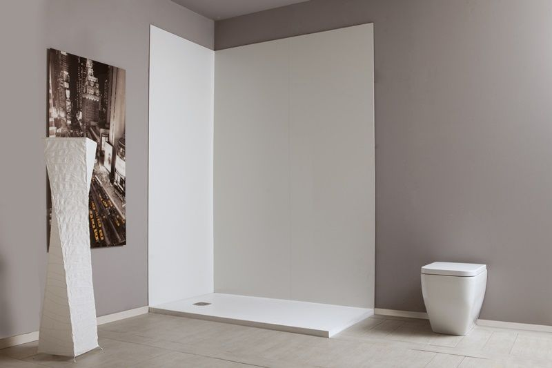 Pannelli coordinati in pvc per la doccia doiserie by megius