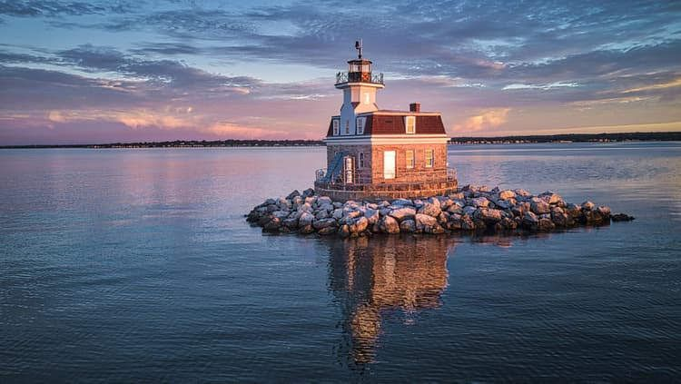 Image result for Penfield Reef Lighthouse, Connecticut: