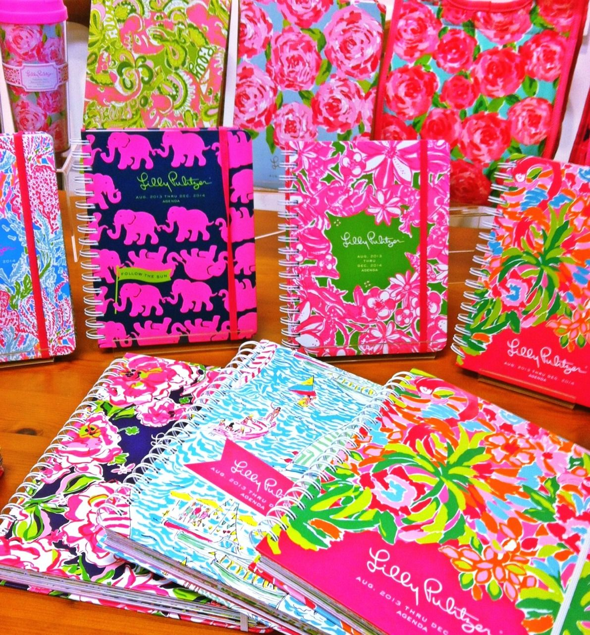 Lilly Planners! Perfect For Writing Down Dates At Chapter