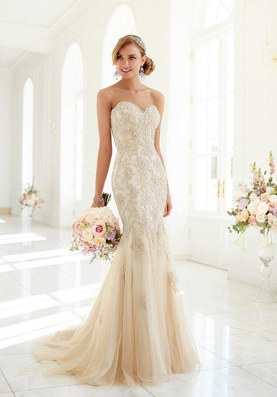 Stella York, 5986, Sz. 22, Gold, $1098 Available at Debra\'s Bridal ...