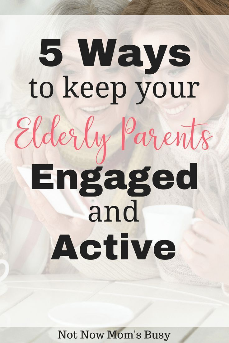 """""""Here are six ways to make sure your elderly parents stay"""