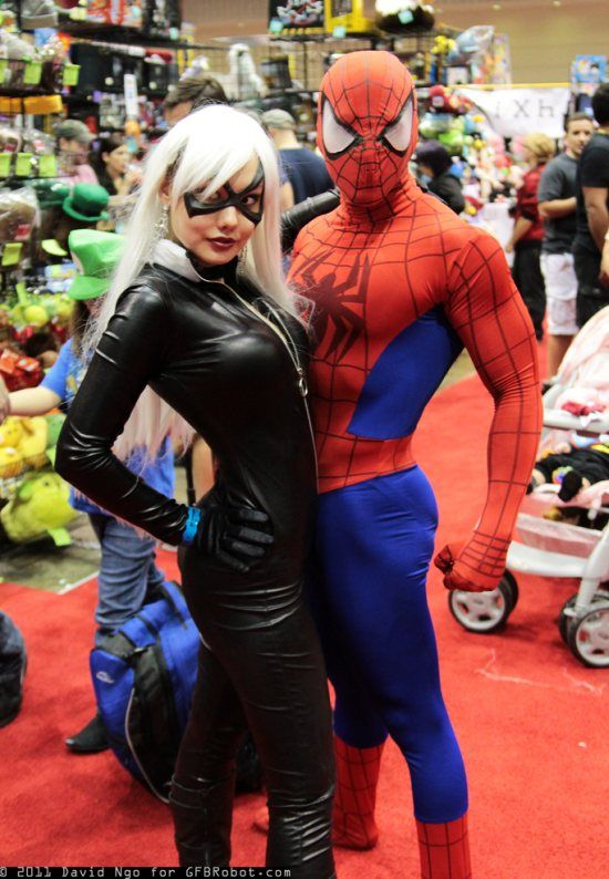 Spiderman and Black Cat & Spiderman and Black Cat | Costumes cosplay and such | Pinterest ...