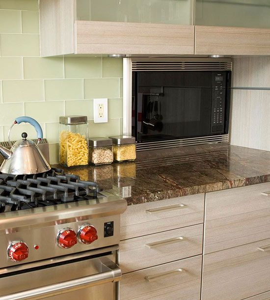 Find The Right Place In Your Kitchen For This Essential Small Appliance.  See Seven Ways