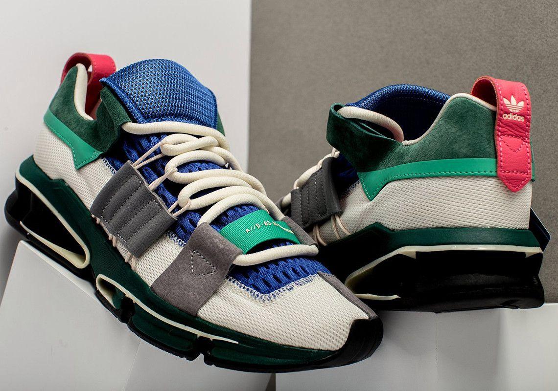 adidas twinstrike avanzata in grassetto verde, rosso e blu per il culo