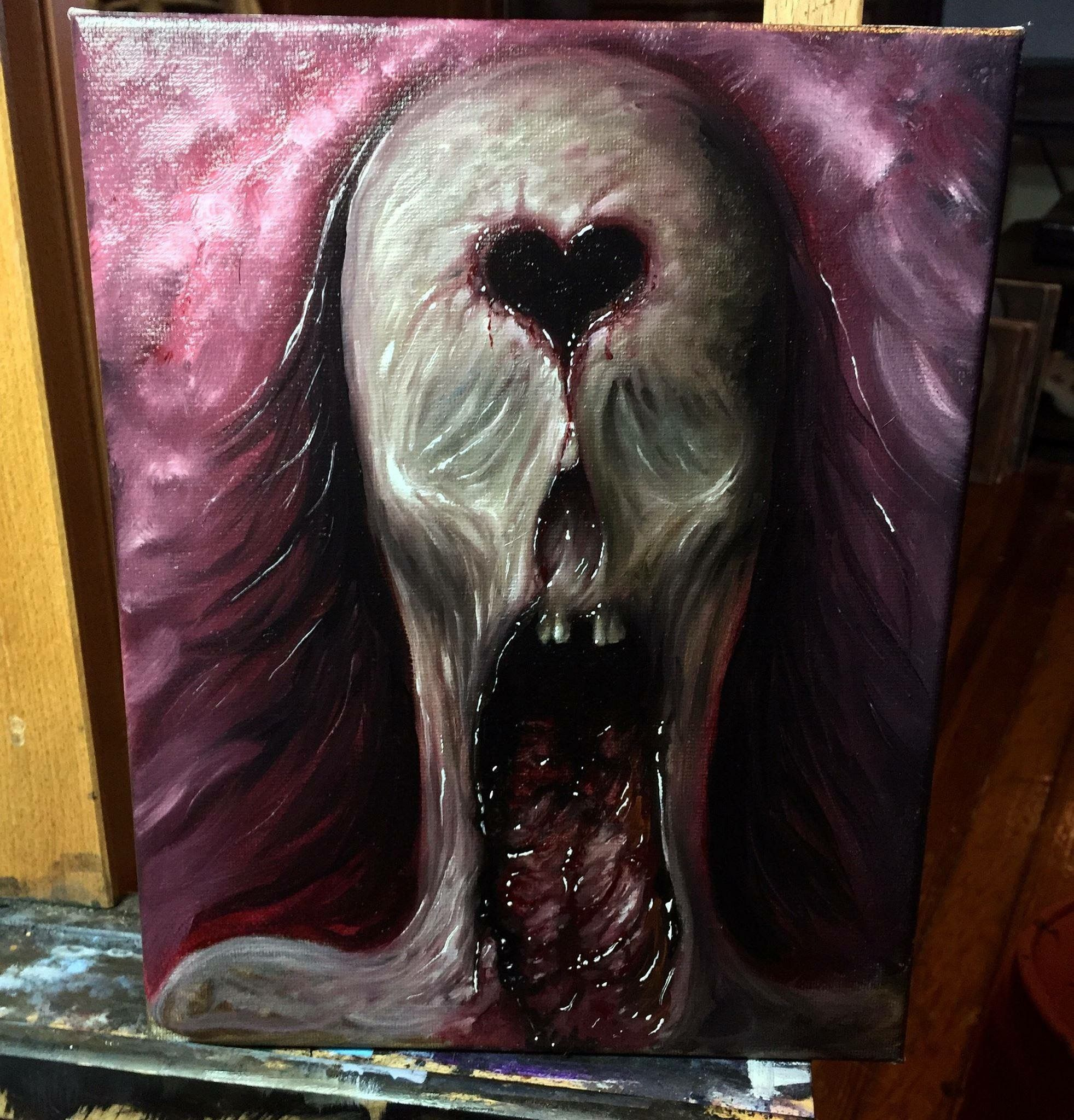 Art Zack Dunn In 2019 Painting Creepy