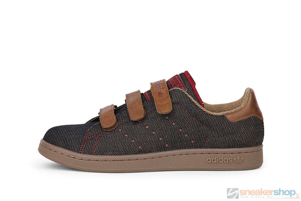 Adidas Stan Smith 1 CF Lux (Black/Leather/Cardin) | 562261