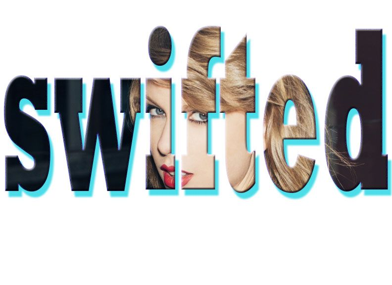 i used Taylor swift picture and made a clip-mask out of it gracias por leer mis comentarios