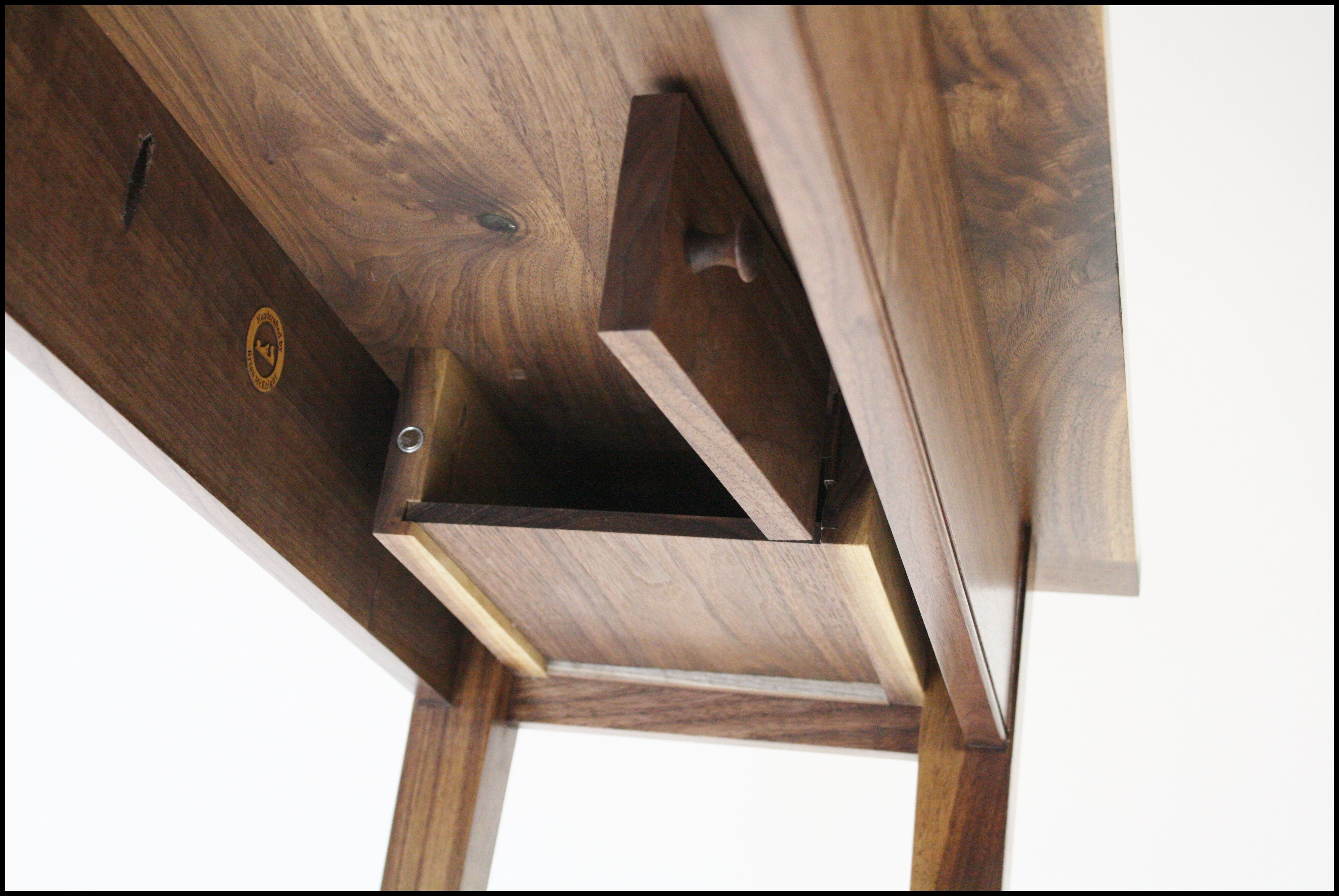 Secret Under Table Compartment-- I\'m going to make it, and then ...
