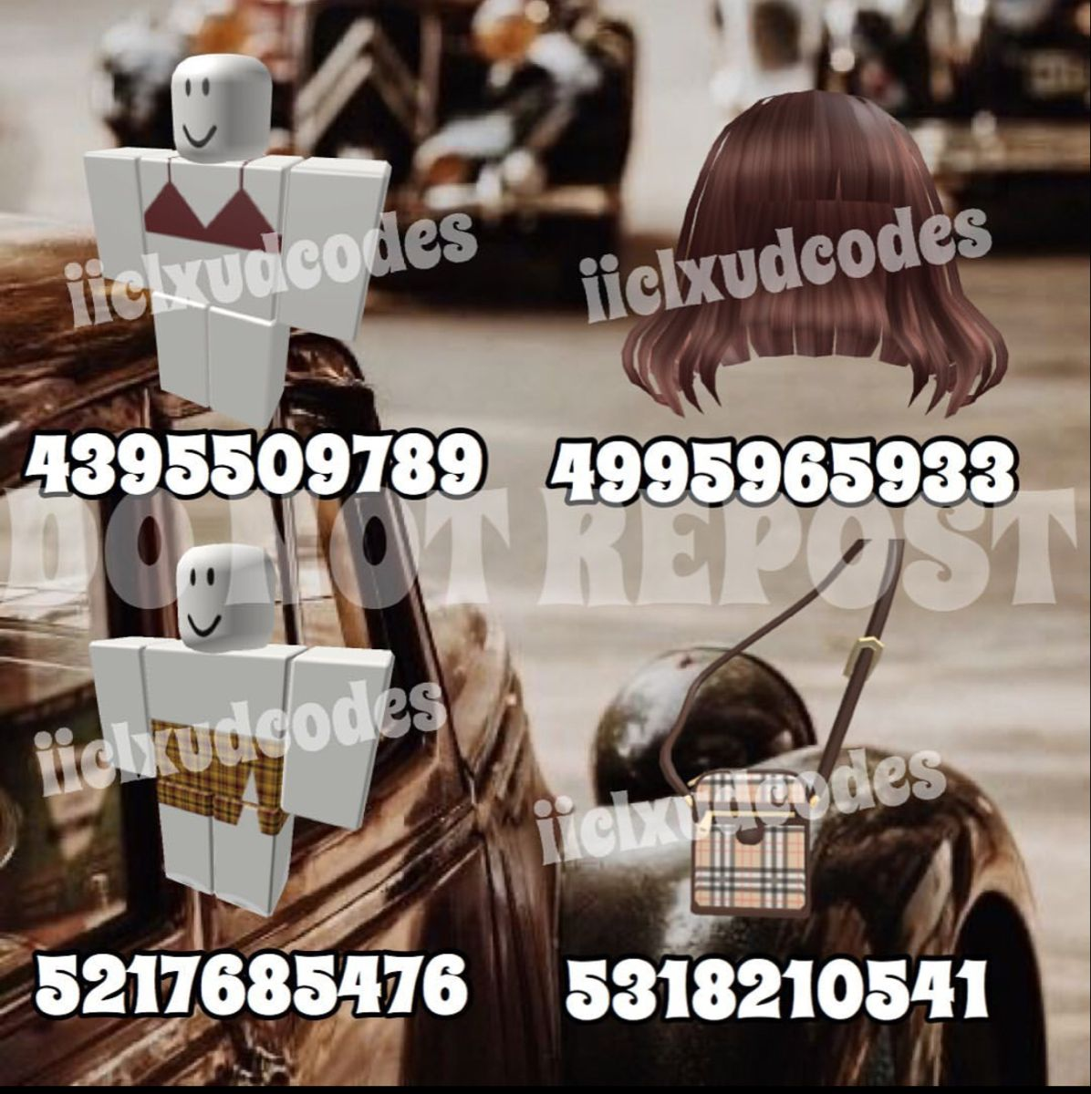 Pin By Angie Ashley On Roblox Clothing Codes Roblox Brown Hair Roblox Girl Outfits