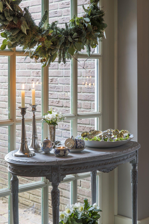 Une maison habillée pour un Noël classique aux PaysBas