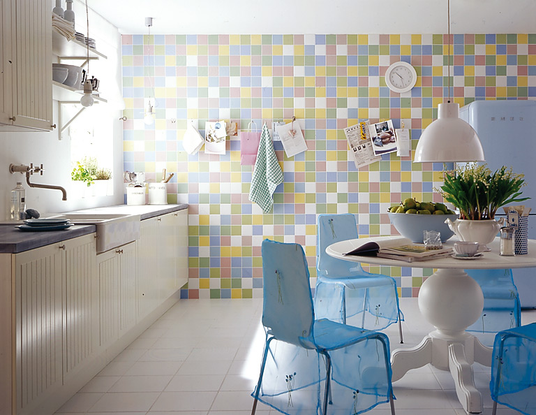 Frischekick für Küche Küche in Pastell Bild 9