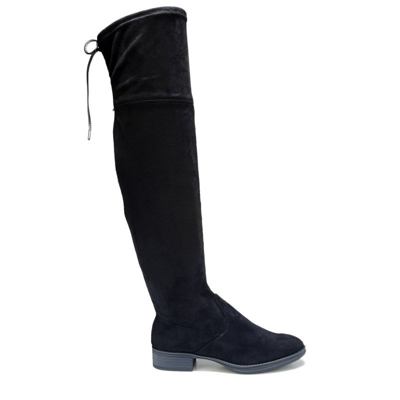 5aa6f4fe32a2 Circus by Sam Edelman Women s Peyton Over The Knee Boots (Black ...