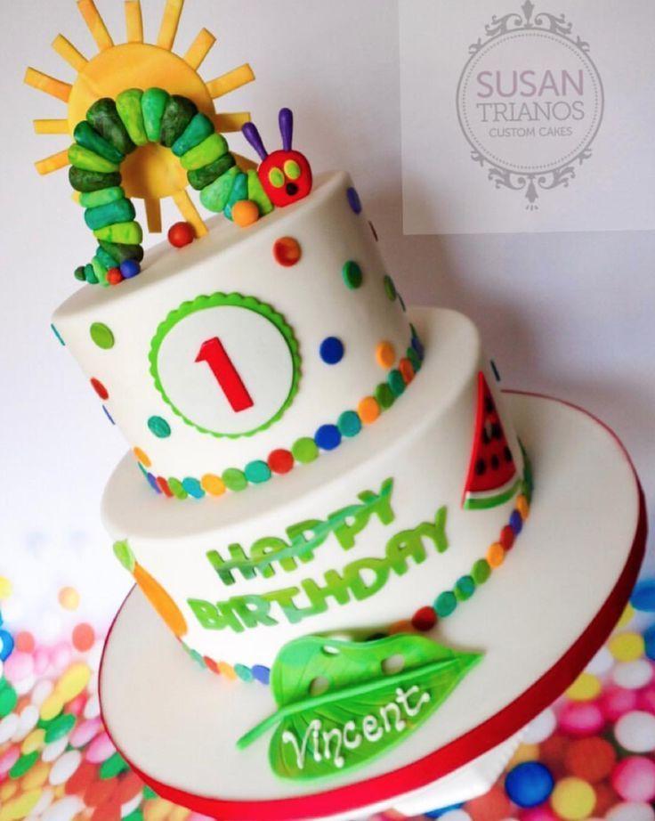 The very hungry Caterpillar birthday cakes inspiration - Aiden - #A ... - #Aiden #Birthday #birthdaycakes #cake #cakewedding #Cakes #Caterpillar #GesundesEssen #herzhafte #Hungry #Inspiration #kuchenrezepte #leckerekuchen #nudelgerichte #vintagecake #waskocheichheute
