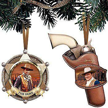 Cowboy Christmas, Country Christmas, Christmas Ornament Sets, Christmas  Gifts, Western Movies, - Pin By Carol White On Cowboys And Western Movies Pinterest John