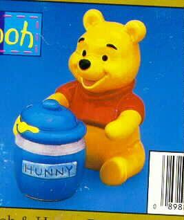Disney's Winnie The Pooh - Salt & Pepper Shaker Set