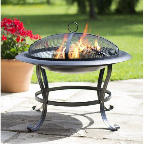 Sol 72 Outdoor Enrique Steel Wood Burning Fire Pit Wood Burning Fire Pit Wood Burning Fires