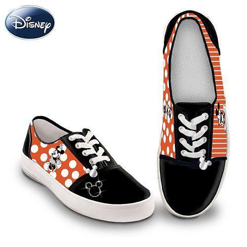 0e305236171f8f Disney Retro Mickey   Minnie Women s Canvas Shoes by The Bradford Exchange  by Bradford Exchange
