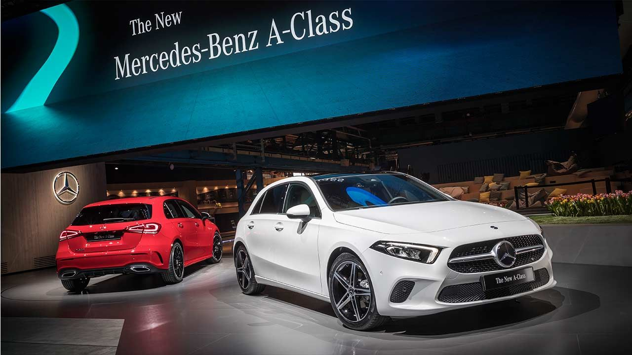 All New 2019 Mercedes Benz A Class Unveiled