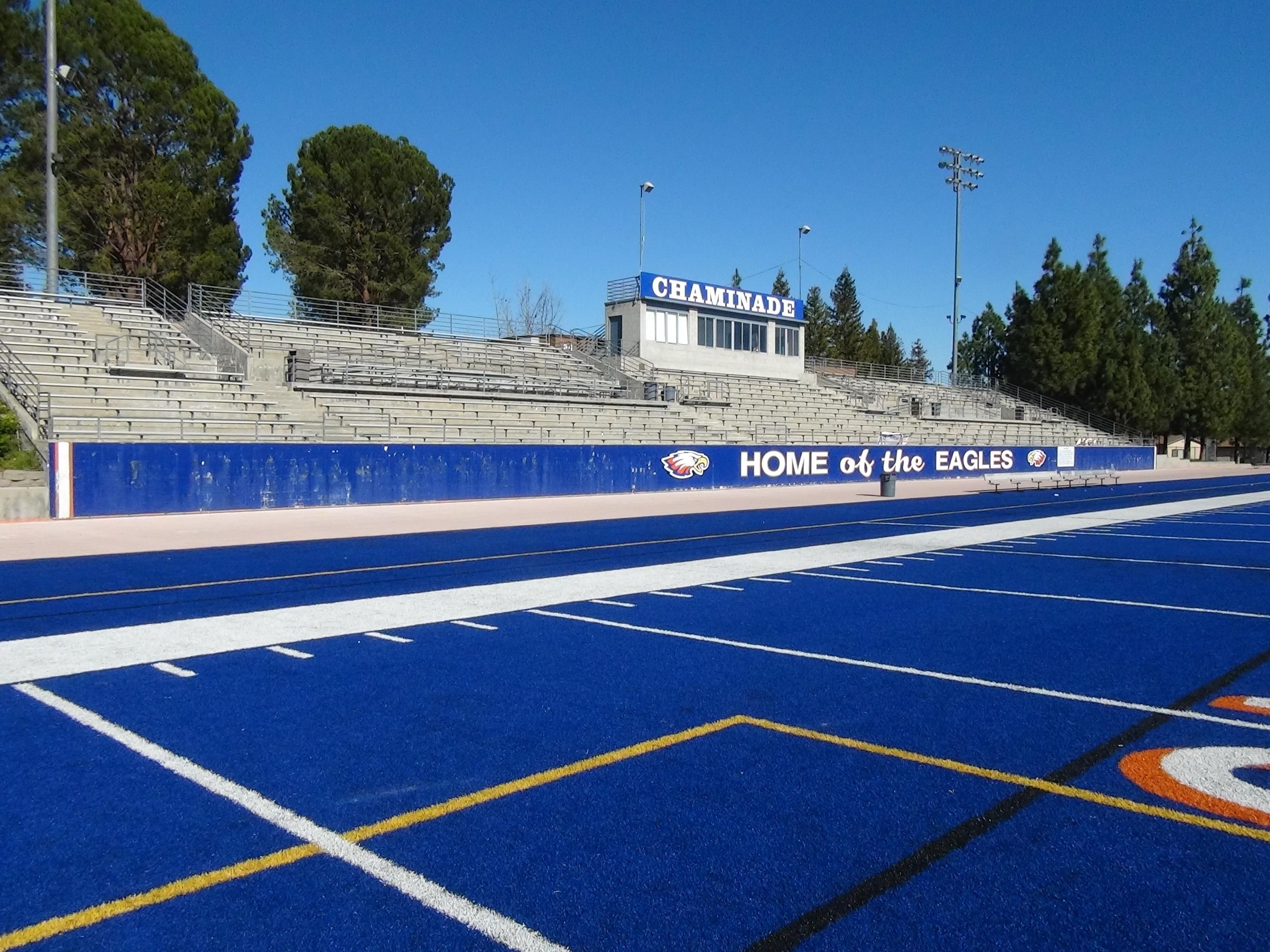 High school football america launches its southern california high high school football america launches its southern california high school football stadium project this is the blue turf at chaminade in west hills fandeluxe Gallery