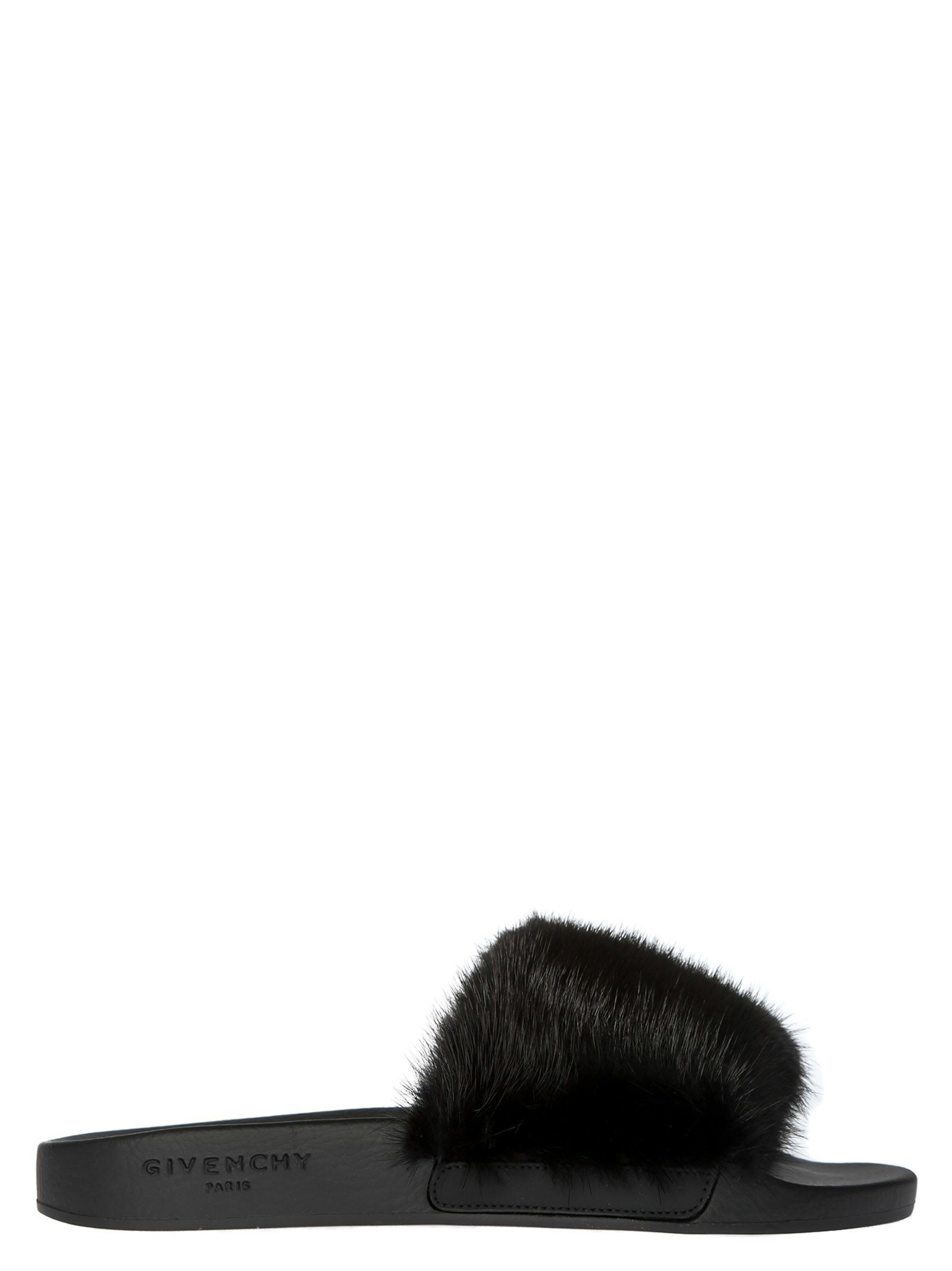 Givenchy Fur flat shoes vJ1TK