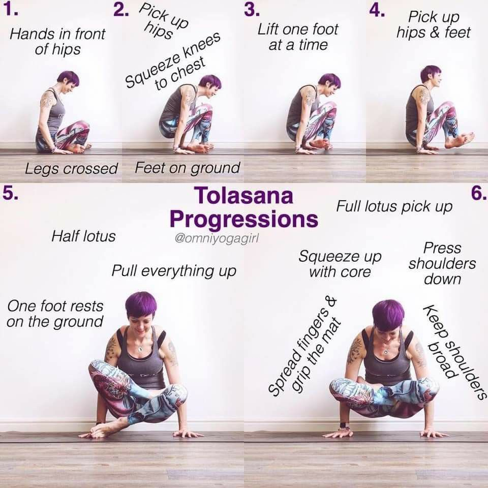 Pin by Jasmine Sullivan on workout in 2020   Advanced yoga ...