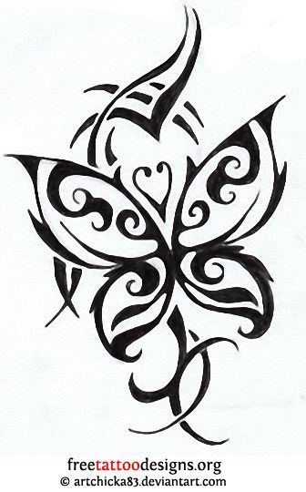 tribal butterfly tattoo design tattoos pinterest tattoos tattoo designs and tribal. Black Bedroom Furniture Sets. Home Design Ideas