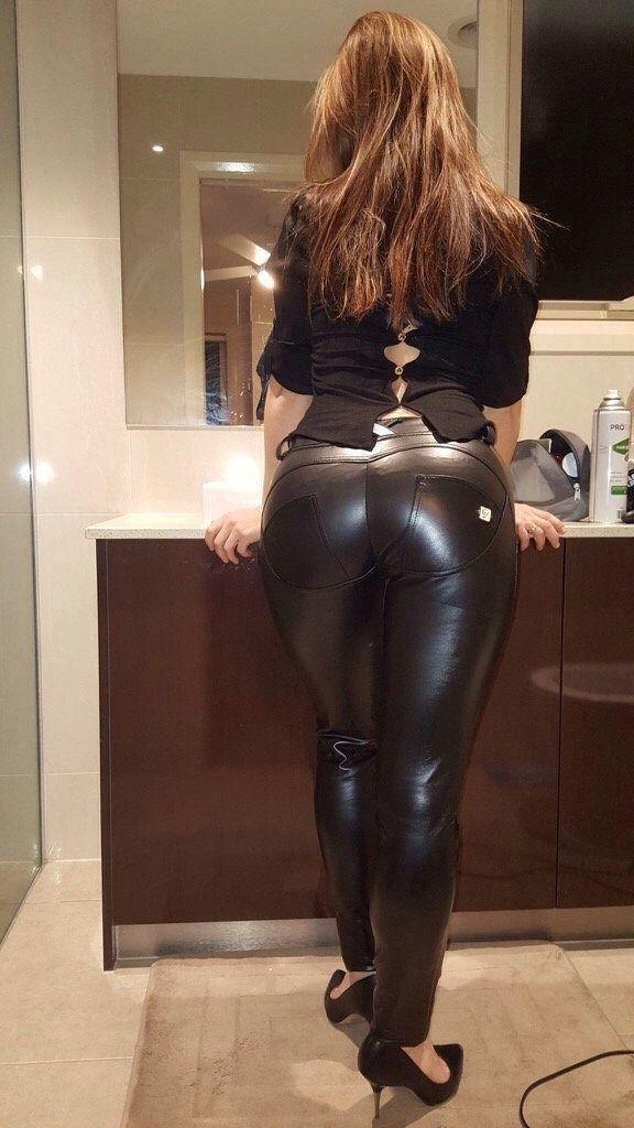 hot girls leather big boobs