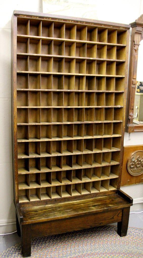 1920u0027s Adirondack Post Office Mail Slots