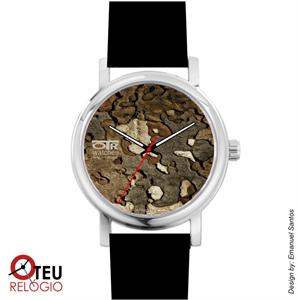 Mostrar detalhes para Relógio de pulso OTR TEXTURA TEX 0014