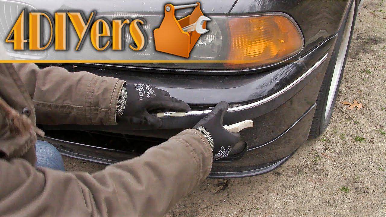 How To Remove Bmw E39 Front Bumper Trim Bmw E39 Bmw Bumpers
