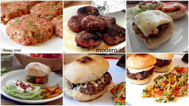 Resep Daging Burger Buatan Sendiri Murah Tapi Yummy Abcipta Rasa Resep Daging Resep Burger