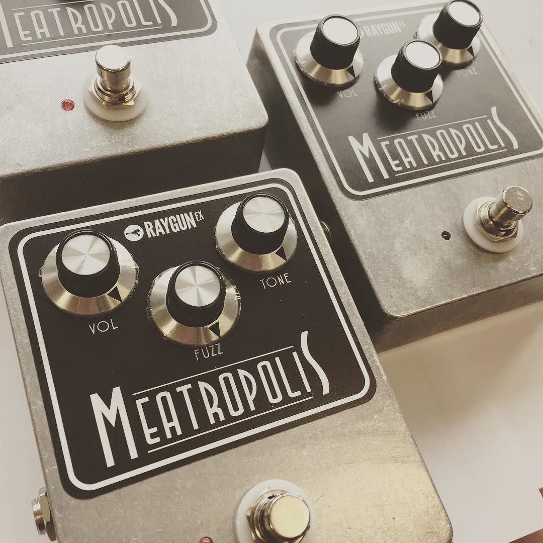Cooking up some more Meatropolis! fuzz fuzzboxes.co.uk